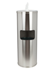Stainless Steel Dispenser with Trash