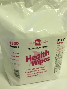 Sanitizing Wipes 1500-count (Box of 4)